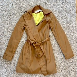 Zara Trench with Neon Lining XS
